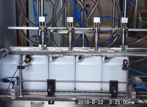 润滑油灌装机管道清洁的主要方法